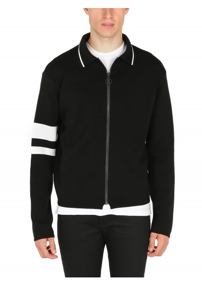 Riccardo Comi Zip Sweater.
