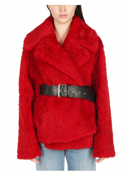 Shearling Short Coat