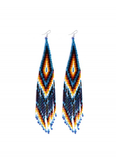 Long Beaded Earring