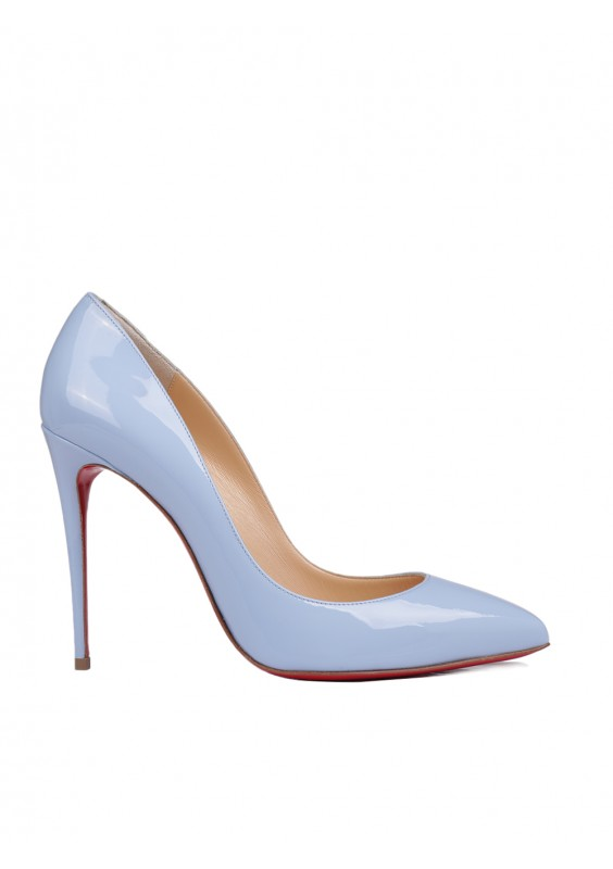 a316ac3d7918 Sky Calf Leather Pigalle Follies Pumps by Christian Louboutin