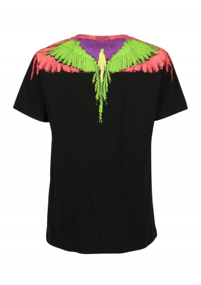 Fluo Glitch Wings T-Shirt