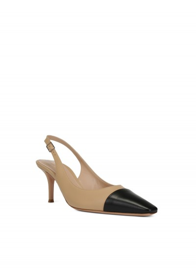 Lucy Slingback Leather Sandal