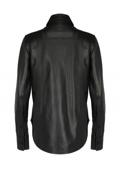 Leather Shirt.