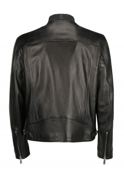 Caban Leather Jacket