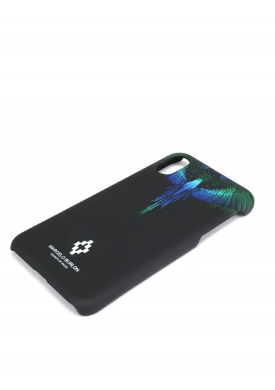 IPhone X Blue Wings Case