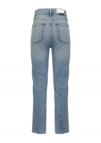 High Rise Stove Jeans
