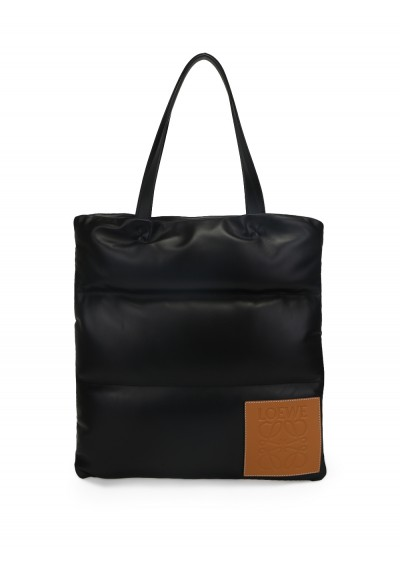 Vertical Tote Puffy Bag